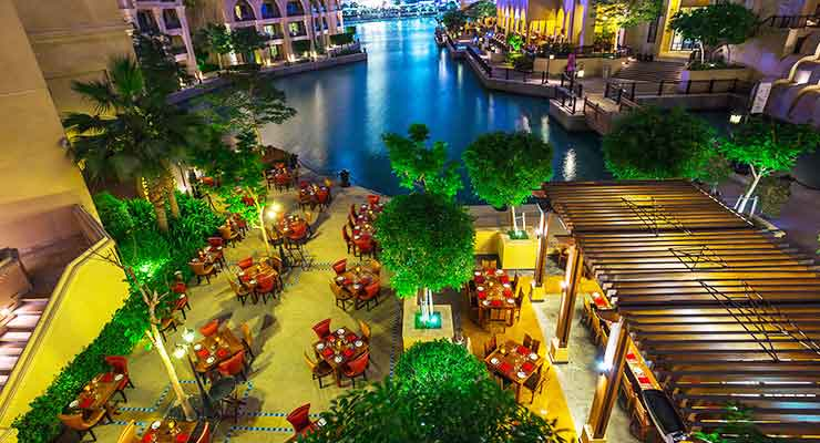 Top Places for Romantic Dinner in Dubai