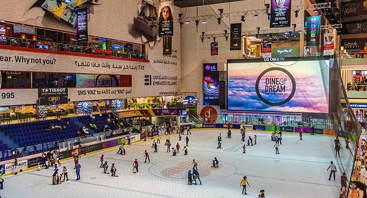 The Ice Rink At Dubai Mall
