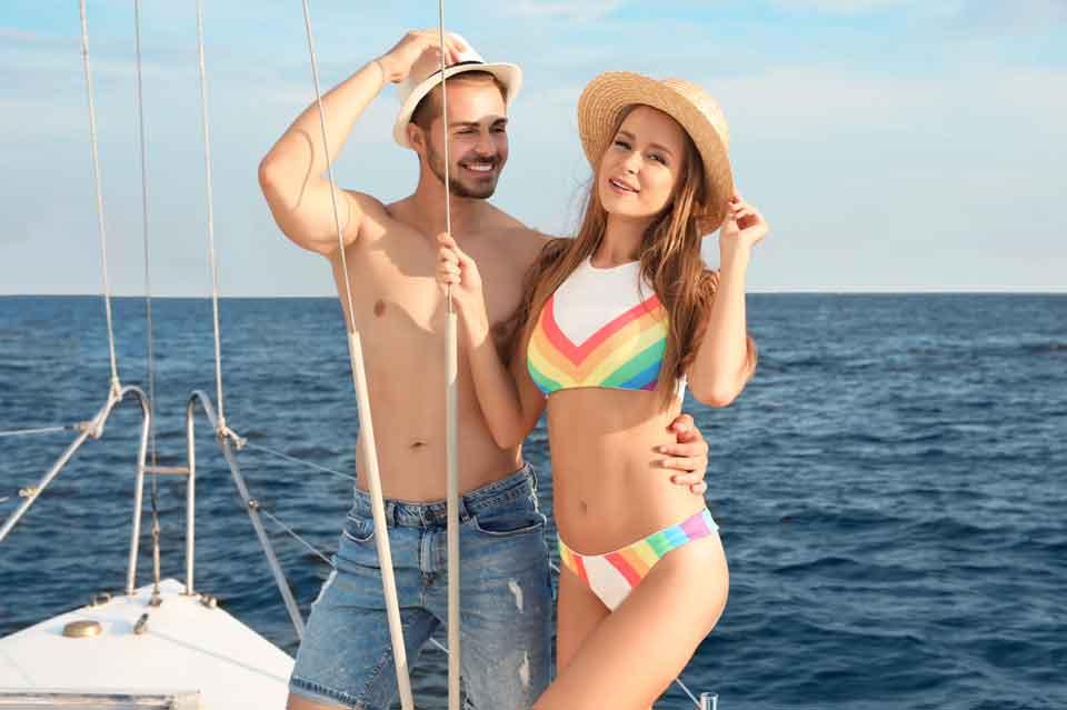 Romantic Honeymoon Holiday on a yacht Dubai