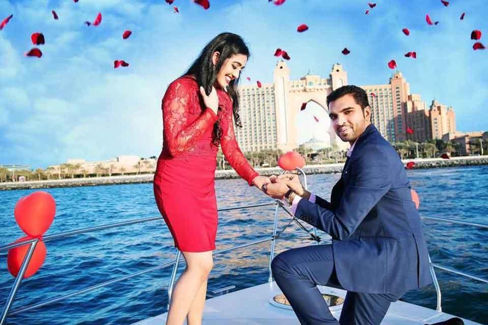 Wedding Anniversary Celebration on a Yacht Dubai