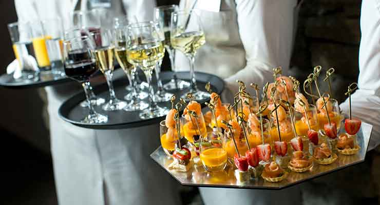 Canapes Premium Package